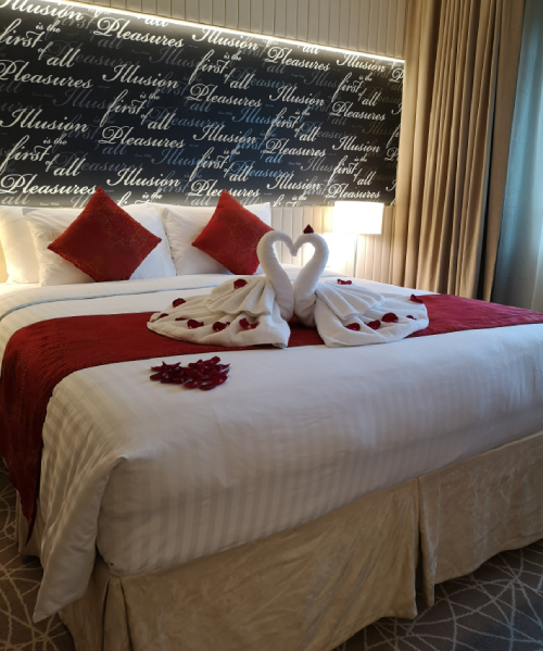 Bridal Suite in Hotel Rendezvous
